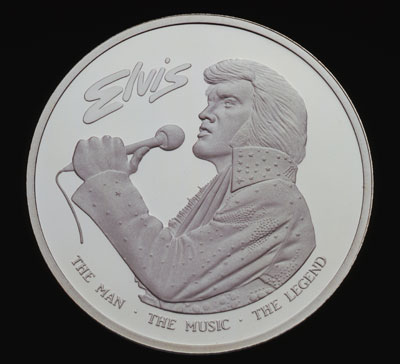 Elvis In Hawaii Coin Legendary Coins A Truly Rare
